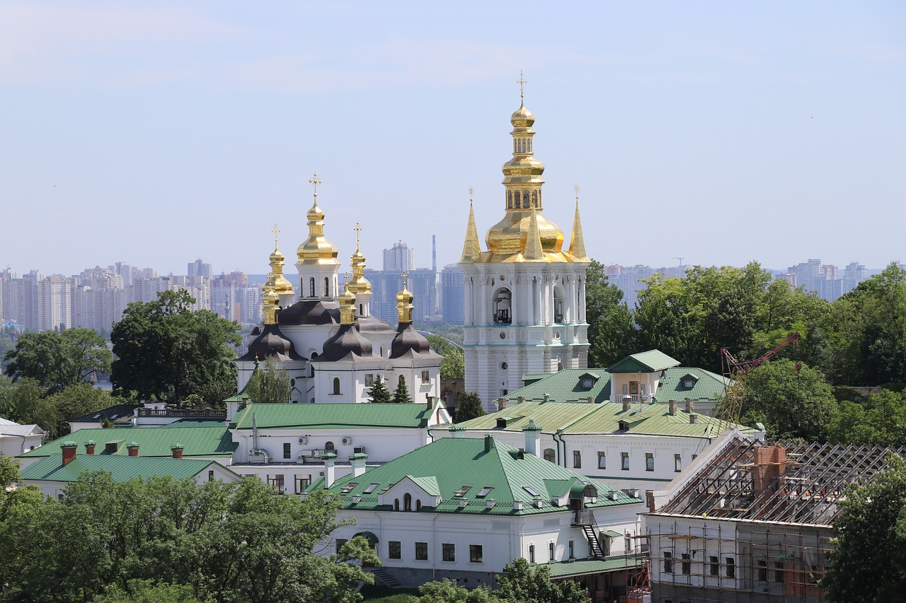 A day in Kiev-pechersk-lavra