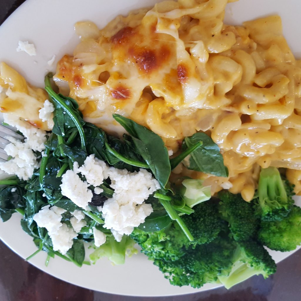 Golden Temple Mac and Cheese
