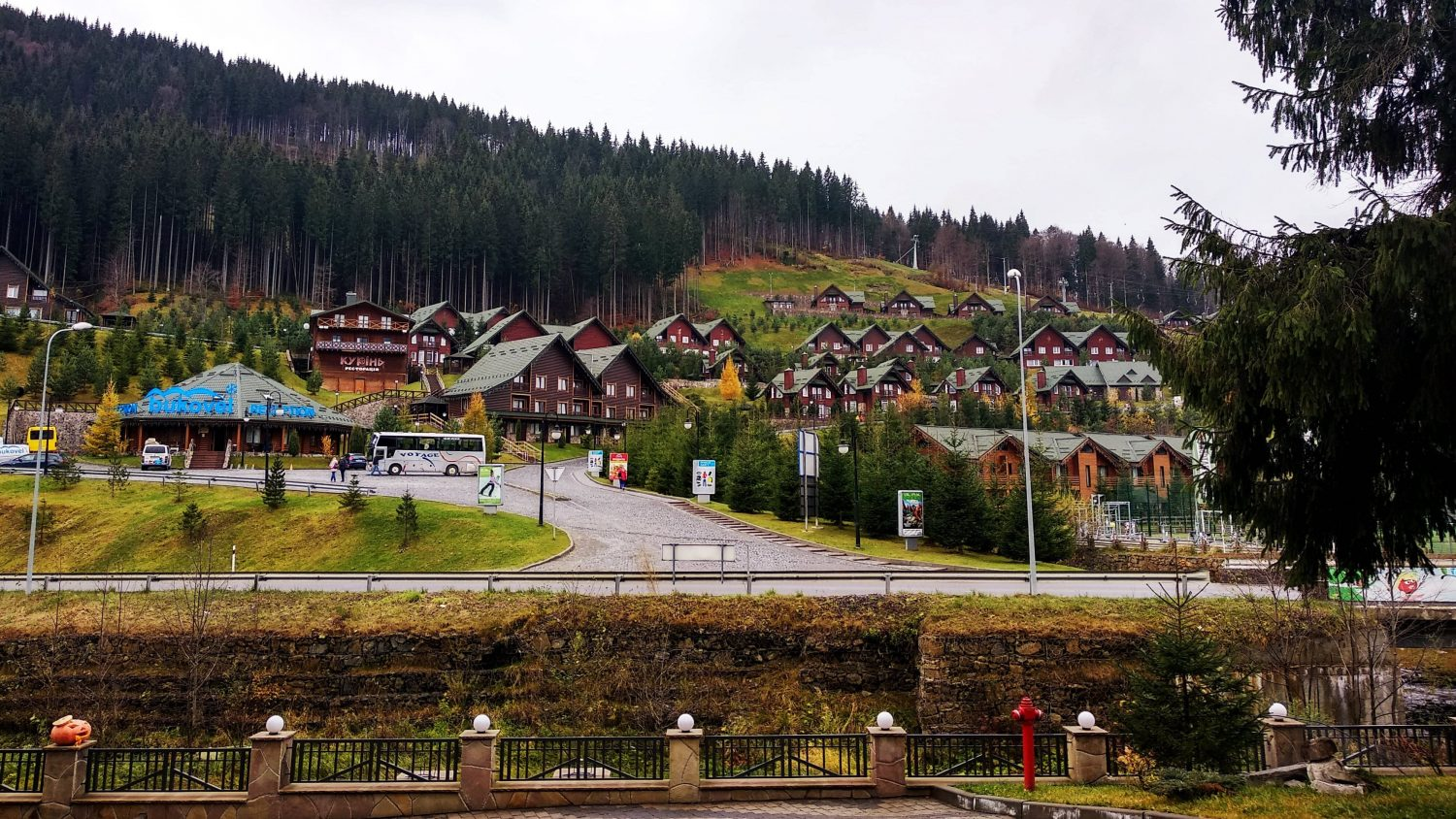 Bukovel beautiful town