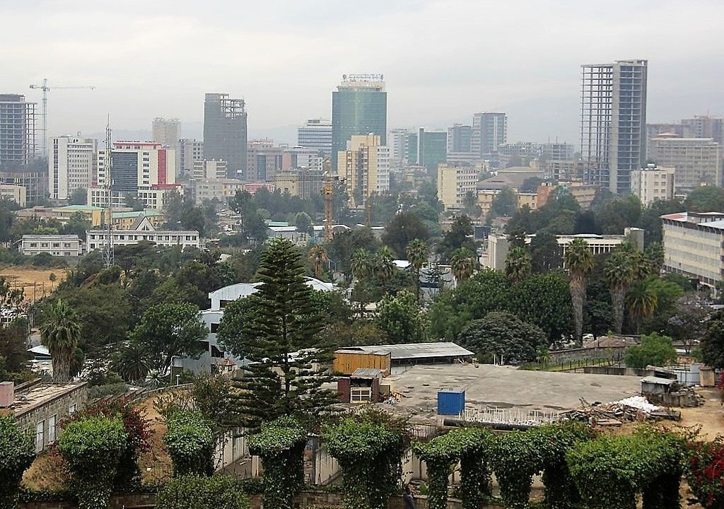 Addis Ababa beautiful city in Ethiopia