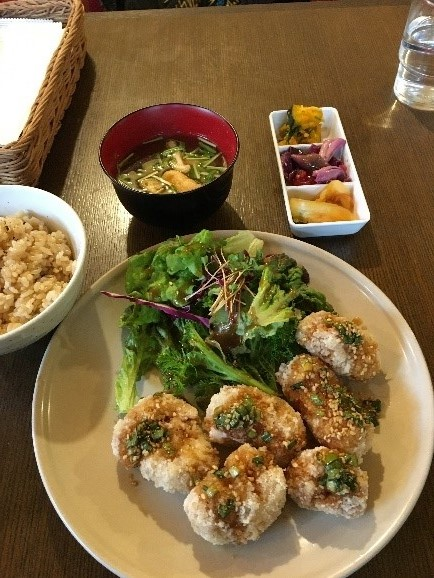 Japanese vegan food