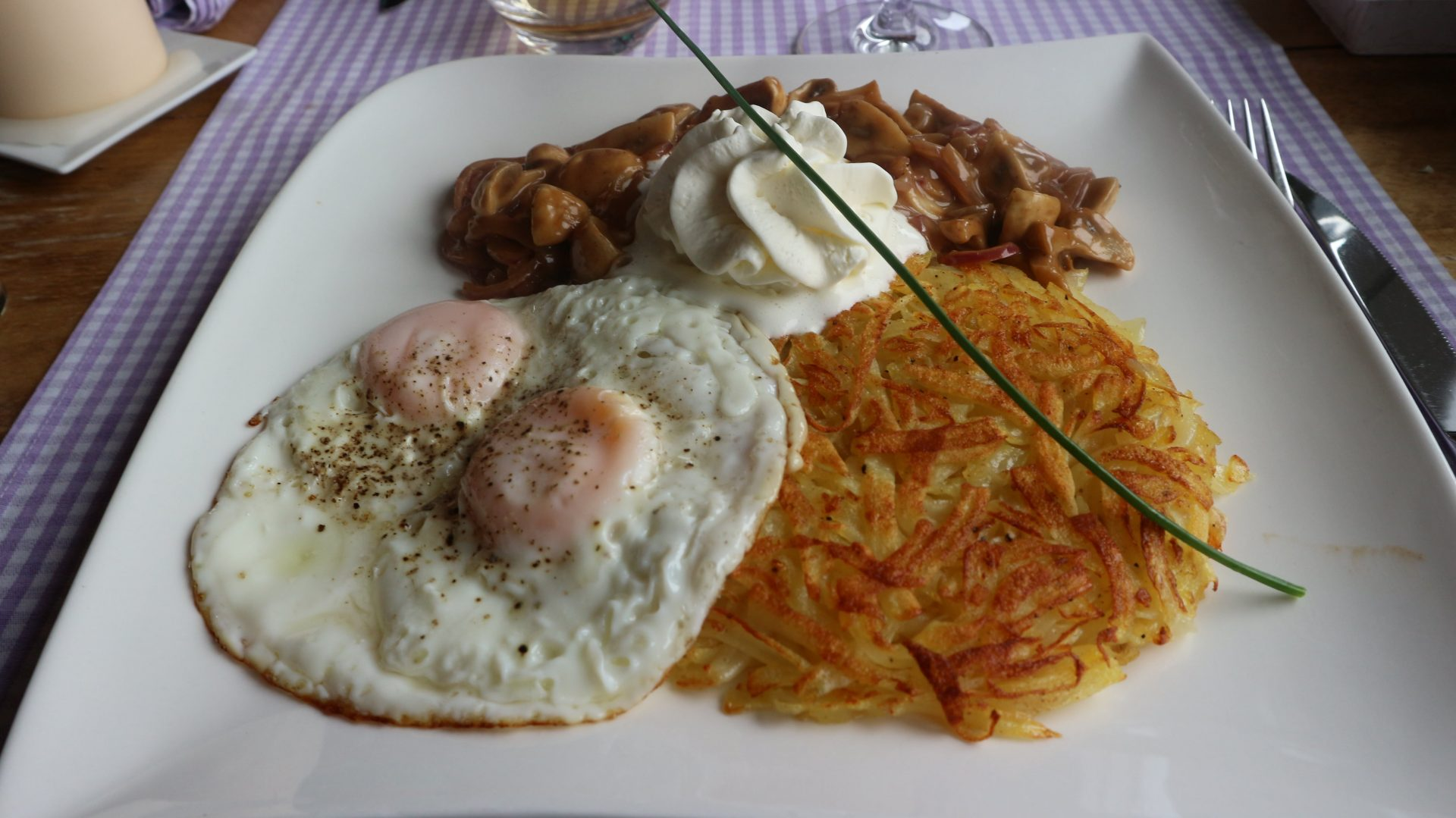 Vegetarian Swiss Rosti